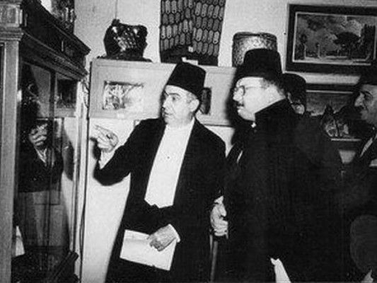 king farouk at el opera in cairo