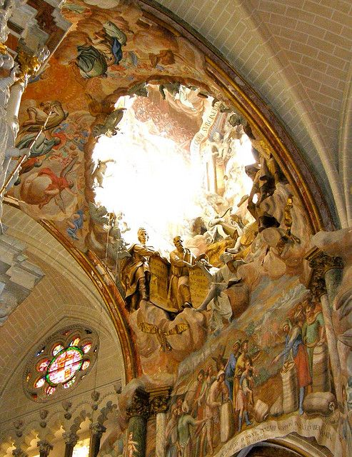 toledo cathedral altar - Google Search Transparente