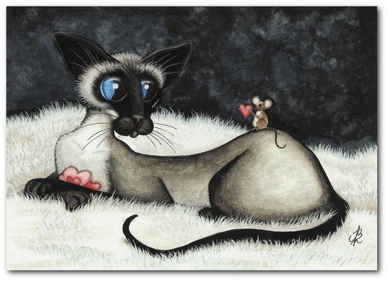siamese Cat BiHrLe LE: