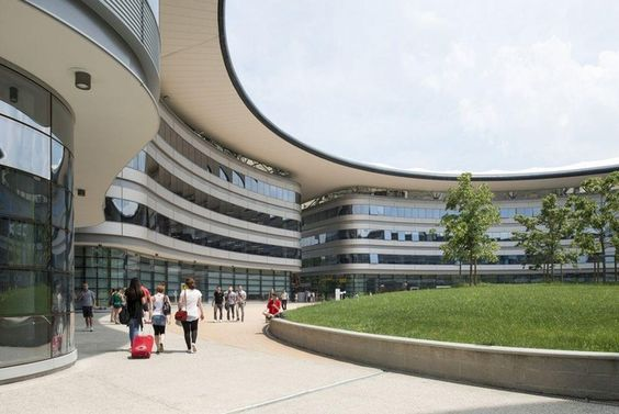 Impressive university buildings: Turin University Faculty Building(Foster + Partners: 2013)