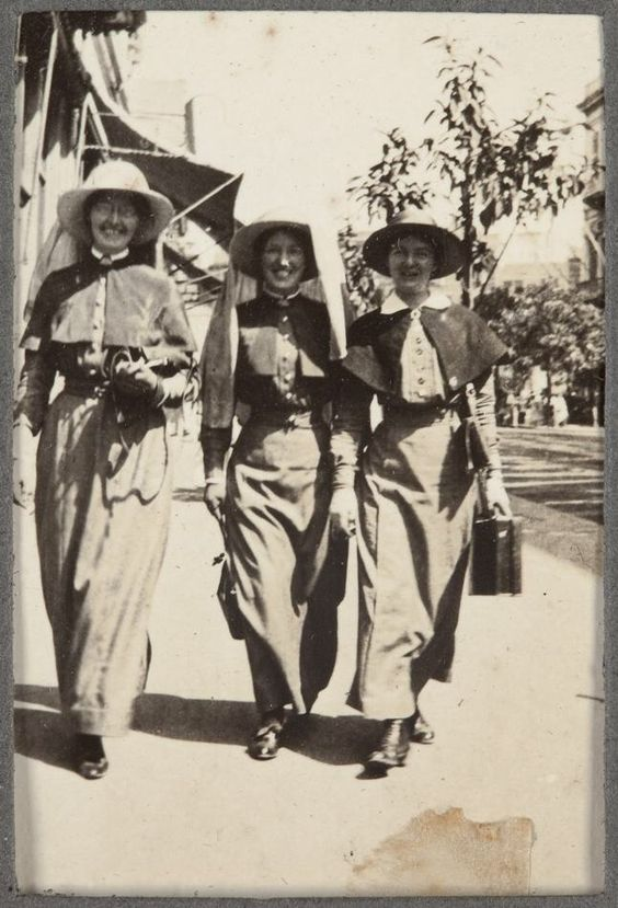 NURSE - AANS AUSTRALIAN ARMY NURSING SERVICE WW1 - Naked Army