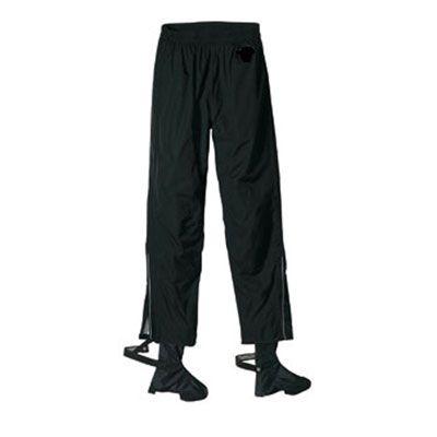 Pantalon imperméable à fermeture éclair et guêtres intégrées