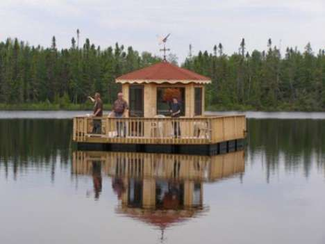 home made pontoon boat