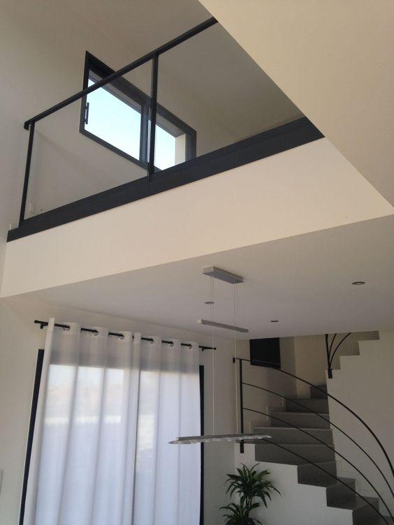 gardes corps du vide sur s jour pos s stairs pinterest photos. Black Bedroom Furniture Sets. Home Design Ideas