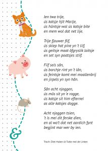 Gedicht 1 2 3 Gedichtsjes En Ferskes Bern Friese
