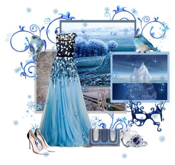 """Meet the Queen of Frozen lands..."" by jayheidi ❤ liked on Polyvore featuring мода, Morgan, STELLA McCARTNEY, Waterford, Kobelli, Gianvito Rossi, StellaMcCartney, tonyward и GianvitoRossi"