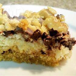 Foto de la receta: Barras de chocolate, nuez y coco