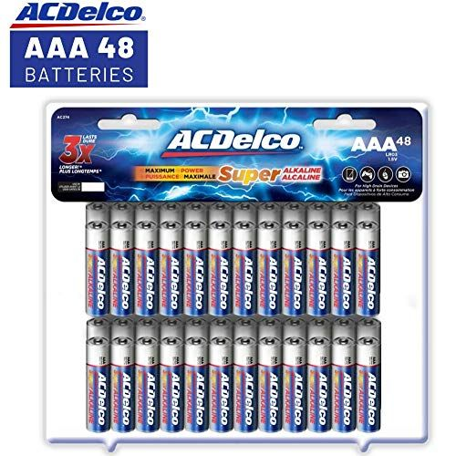 Acdelco Aaa Batteries Triple A Battery Super Alkaline H Https