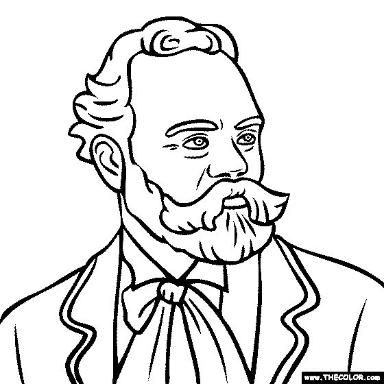 historical figures coloring pages dudeindisneycom brock