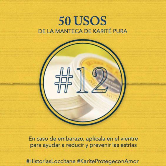 Uso del Karité #12 Previene las estrias! #karite #karitepretegeconamor #historiasloccitane #loccitane #tips