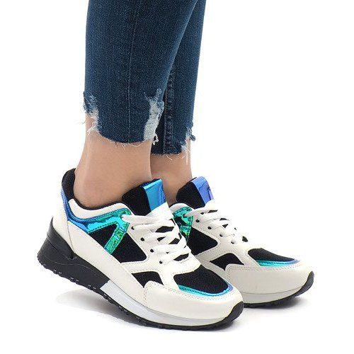 Czarne Sneakers Modne Obuwie Sportowe 2018 12 Biale Black Sneakers Sneakers Sports Shoes