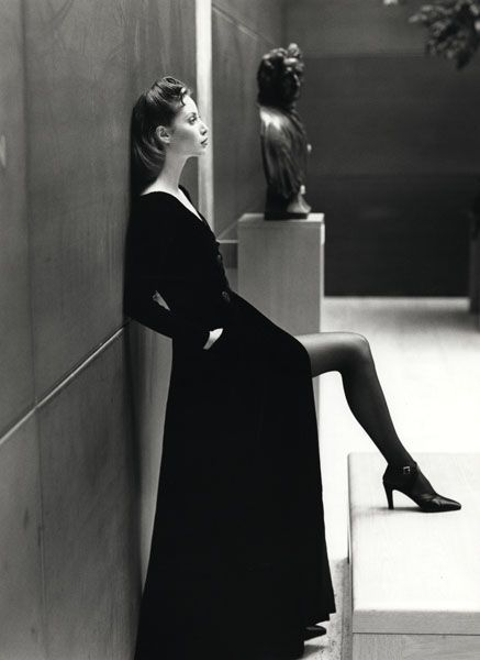 Christy Turlington by Patrick Demarchelier. @Deidra Brocké Wallace