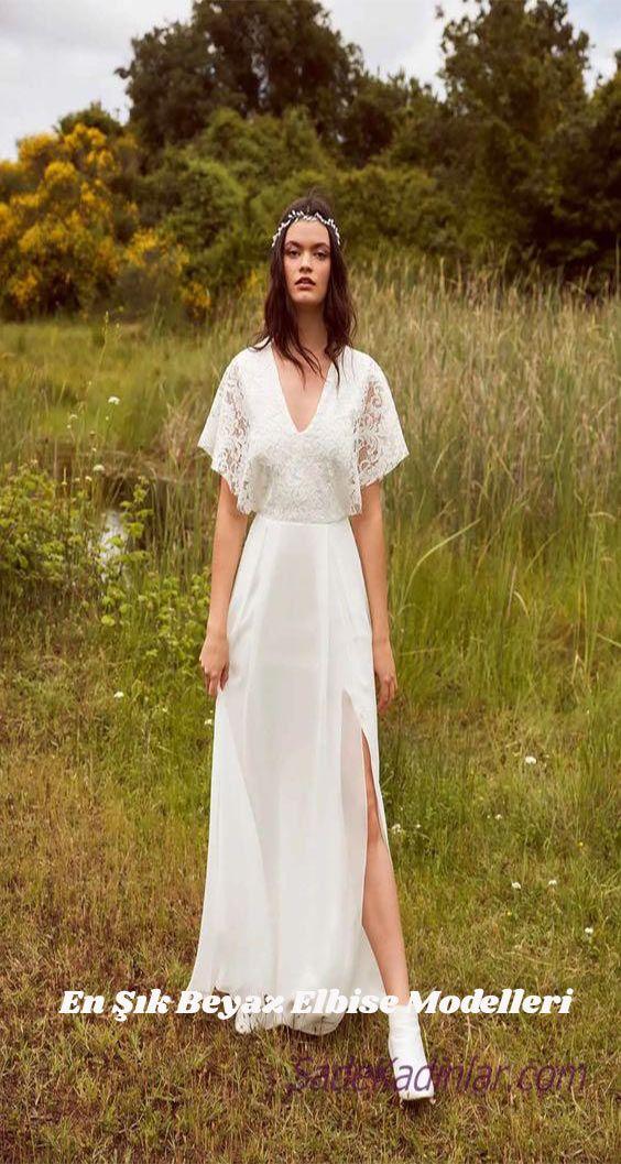 Safligin Simgesi 2020 Beyaz Elbise Modelleri 2020 Elbise Modelleri The Dress Elbise