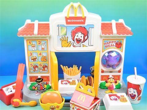1999 Mcdonalds Playskool Happy Meal Drive Thu Electronic Play Set