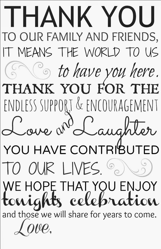 : Thank You Card for Wedding Reception {Free Printable} My Wedding ...