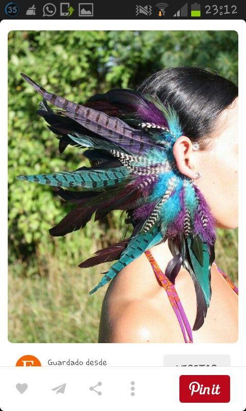 Aros pluma