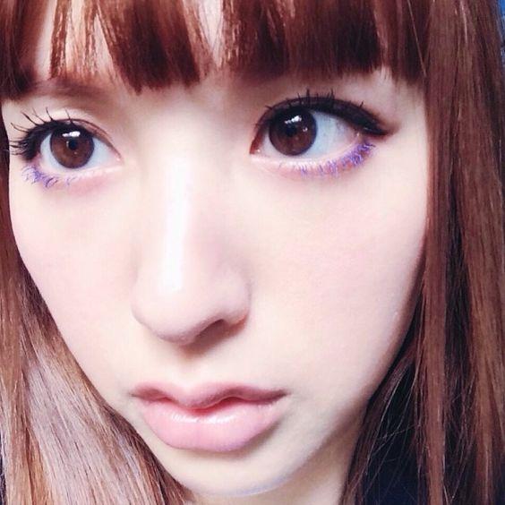 #eyelash #blue #mascara #chameleon #makeup