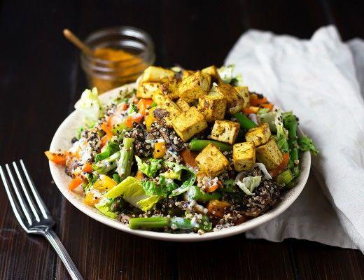 Colorful+Tofu+Quinoa+Bowl