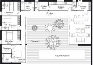 Plan De Maison Avec Piscine Gratuit Faire 1