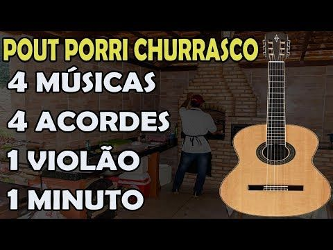 4 Musicas 4 Acordes 1 Violao Em 1 Minuto Aprenda Pout Pourri