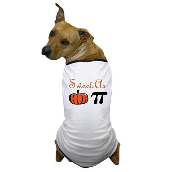 Sweet As Pumpkin Pi Dog T Shirt By Cloverbelledesigns Pets Pet