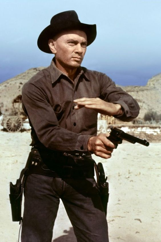 RETURN OF THE SEVEN - Shot in Spain - Yul Brynner - United Artists - Publicity Still.