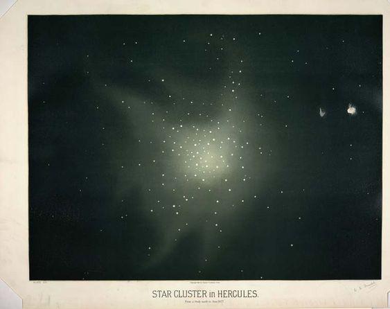 Des illustrations astronomiques de 1870