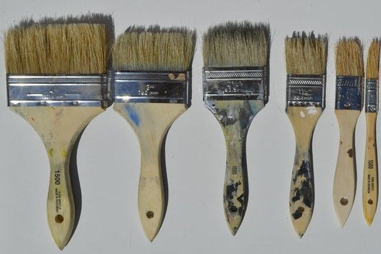 Our all time favorite paint brushes.  @Causer+Lai
