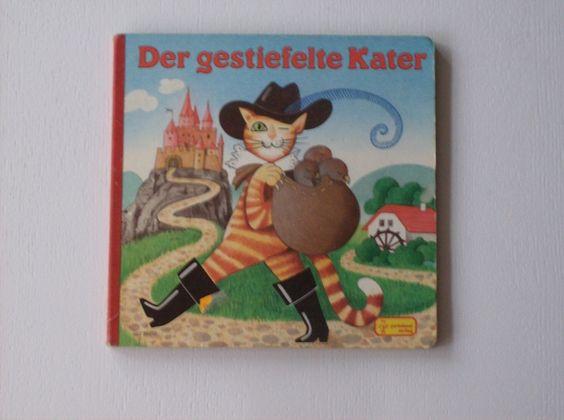 """Vintage Märchen - """"Der gestiefelte Kater"""" Märchenbuch 80er Kinder - ein…"""