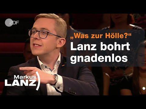 Philipp Amthor Uber Sein Antwort Video Zu Rezo Markus Lanz Youtube Videos Vermisste Personen Sendung