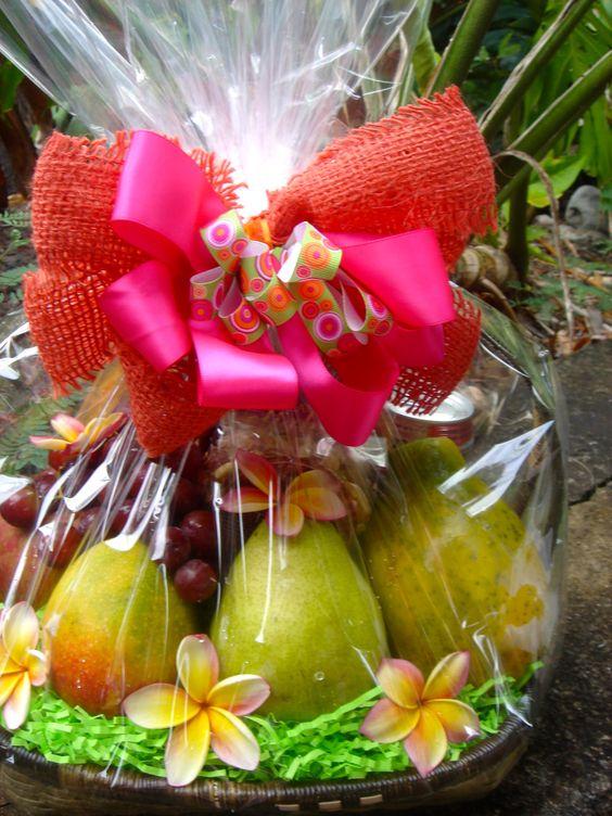 healthy fruit baskets papaya fruit