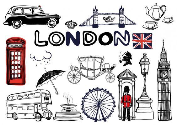 London Skizzenbuch | Urlaubsgrüße | Echte Postkarten online versenden…
