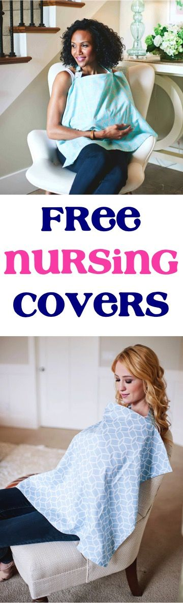 Have an on-the-go baby?  Stay cute and adorable in any situation with these Free Adorable Baby Nursing Covers! {just pay s/h!}  {Or even stash one away as a thrifty baby shower gift!!}