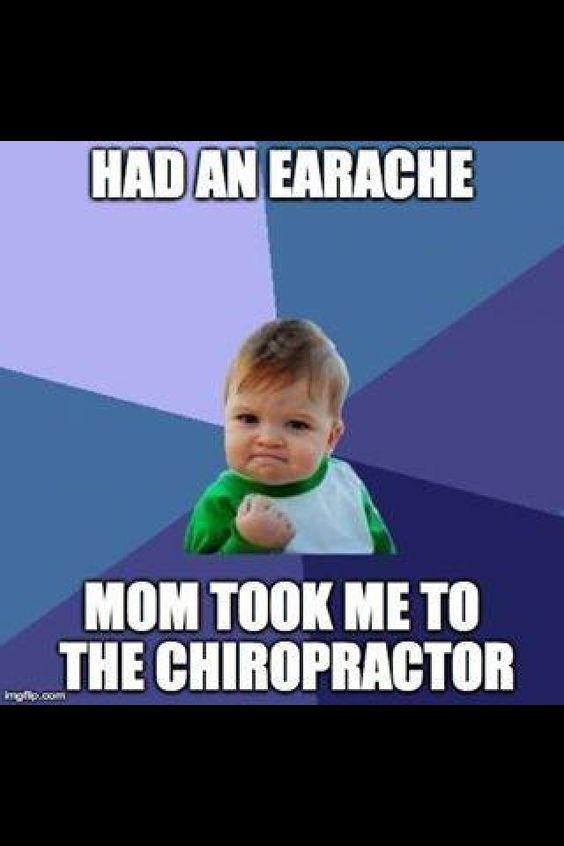 #Chiropractic Care is good for both children and adults