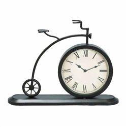 Metal Bicycle Desk Clock