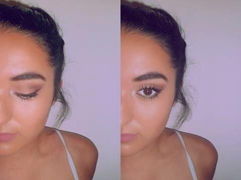 mi maquillaje :D