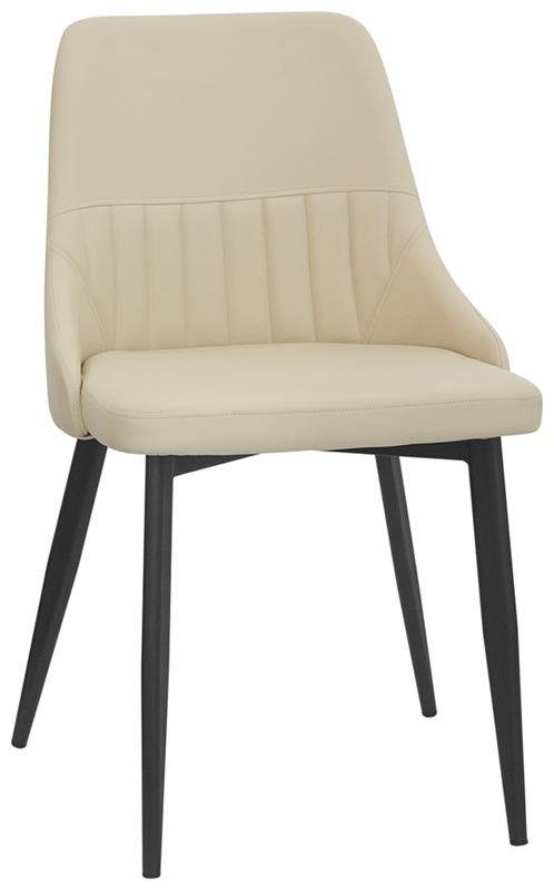 Sedie In Ecopelle Colorate.Abela Scelta Colore In Ecopelle Imbottita E Gambe In Metallo Nero