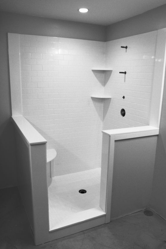 Subway Tile Showers Gray And Marble Subway Tiles On Pinterest