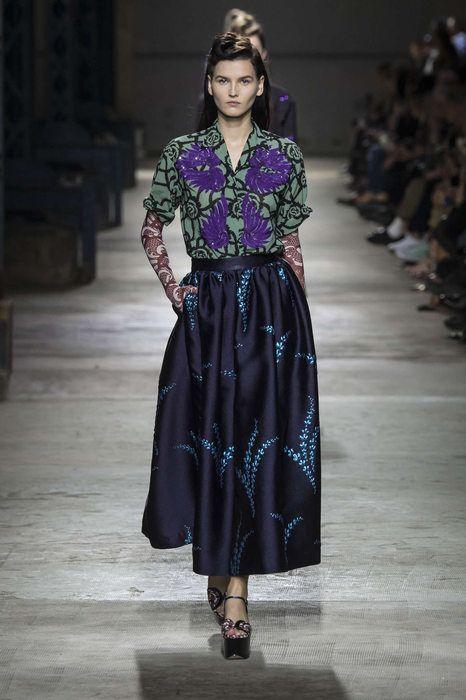 Dries Van Noten Printemps/Eté 2016, Womenswear - Défilés (#23066)