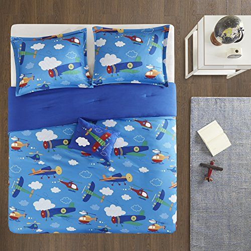 Twin Twin Xl Bedding For Boys Wright 3 Piece Cute Kids Bedding
