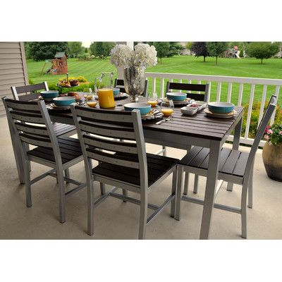 "Found it at Wayfair - Loft 72""x36"" Outdoor Dining Table"