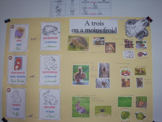 A 3 on a moins froid  Poster 3 personnages    MS GS   Maryse R.