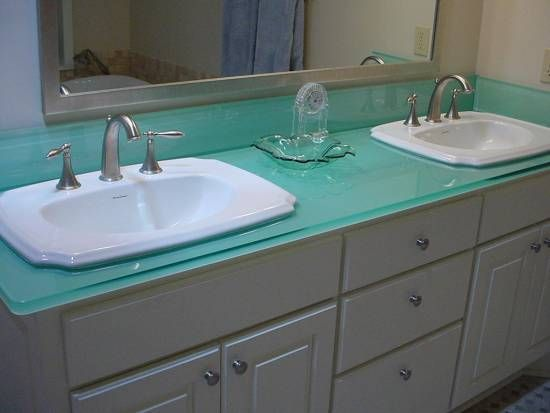 Easily Creative Bathroom Countertop Ideas Bathroom Countertop Ideas Meja Dapur Hiasan Kamar Mandi Wastafel