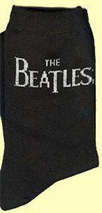 THE BEATLES HORIZONTAL LOGO WOMEN'S SOCKS [5938] - $9.50 : Beatles Gifts, The
