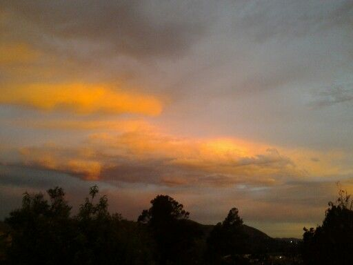 Swaziland - sunset from my house