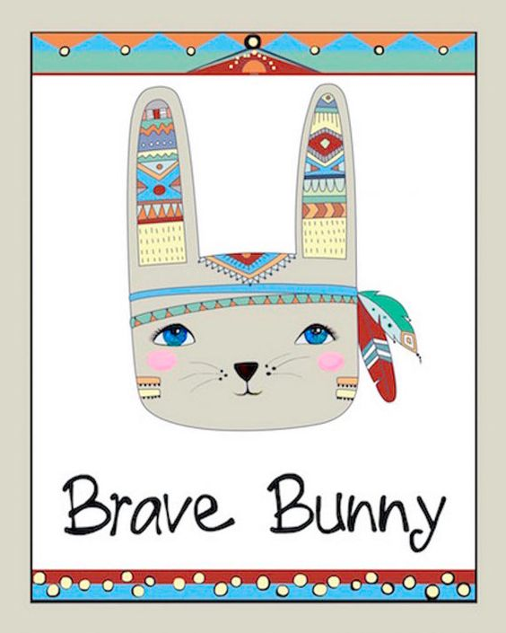 Nursery Wall Decor Kids Wall Art Childrens by SomebodyLovesYouArt Hey Brave Warrior Bunny!  Oh so cute!  Very cute for baby nursery decor super cute for toddler wall art or  playroom art! Who wouldn't love this darling Brave Warrior Bunny!  And there is a super cute Dream Catcher print that matches! Please visit my Etsy Store for more Nursery Wall Art and DIY prints for all ages!  Infused with positive words and affirmations...digital download art is easy and fun and so affordable!
