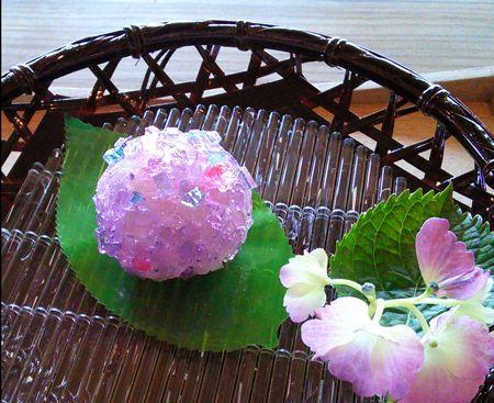 Japanese Sweets, wagashi, アジサイ Ajisai - Hydrangea