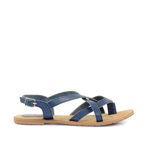 Blauwe sandalen casual