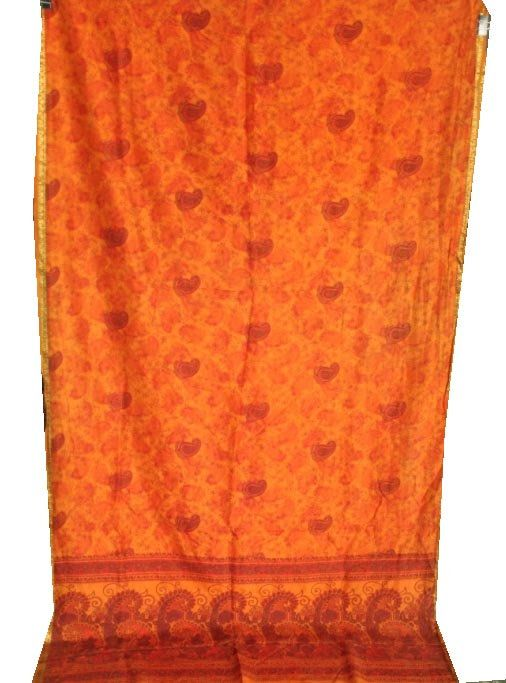 Vintage Saree Women Wear Cotton Silk Saree 5 Yard Cotton Fabric Cotton Sari