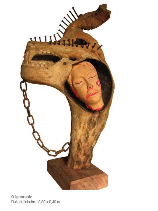 Esculturas - Ricardo Costa - O escultor do imaginário